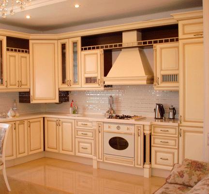 ретро дизайн кухня