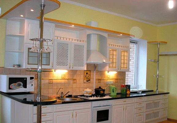 подсветка для кухни свет