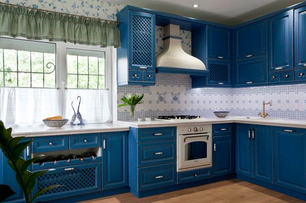 синяя кухня Крым Симферополь