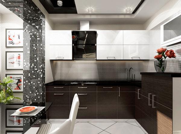 сталь нержавеющий дизайн кухня Крым