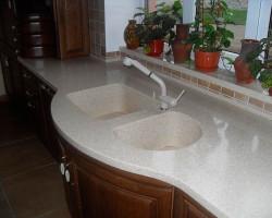 кухонная столешница из искусственного камня Бахчисарай