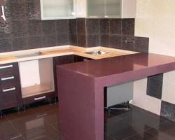 кухонная столешница из искусственного камня Керчь