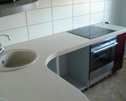 кухонная столешница из искусственного камня Евпатория