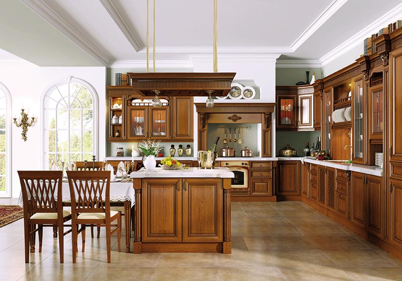 кухни под заказ из дерева Симферополь