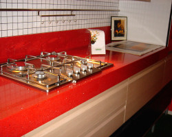 кухонная столешница из искусственного камня Инкерман