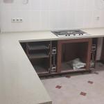 дизайн кухни изготовление и монтаж столешниц из искусственного камня на заказ
