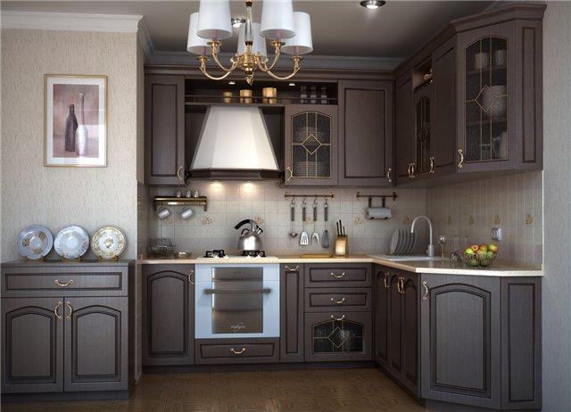 кухня в малых размерах