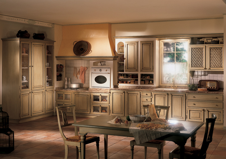 кухня в стиле кантри на заказ